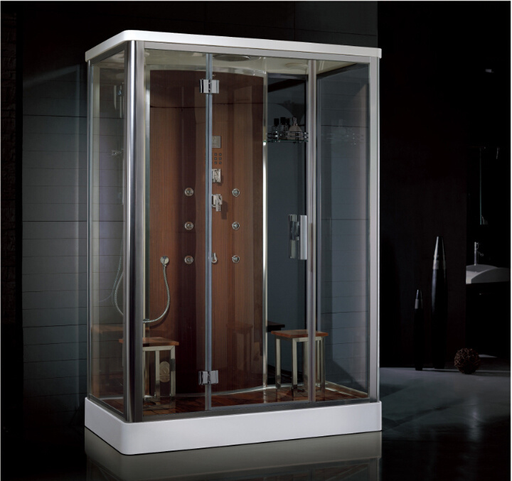 2016 New Style Luxury Steam Shower Enclosure with Control Panel Asts1056