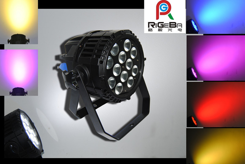 RGBW 4in1 12X8w LED Indoor PAR Can