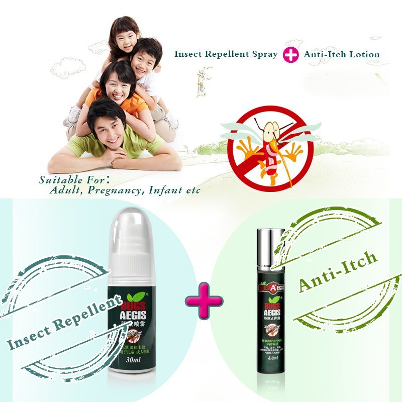 Mosquito Repellent with Pump Spray