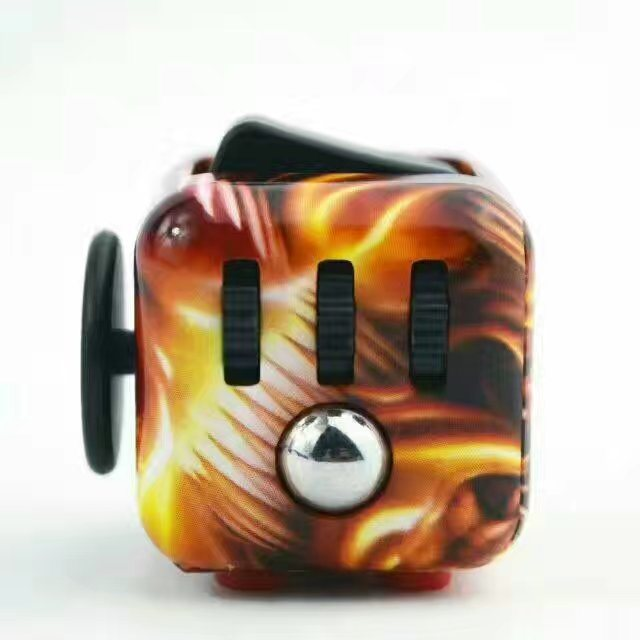 Hot Selling Fidget Cubes with Color Printing OEM Order