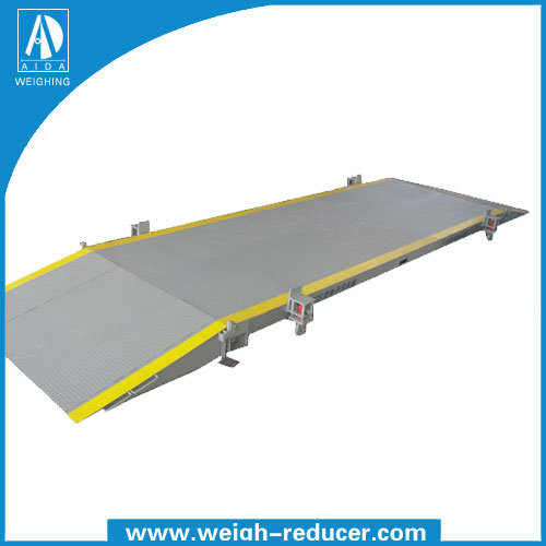 100t 3*18m Movable Truck Scale/Weighbridge