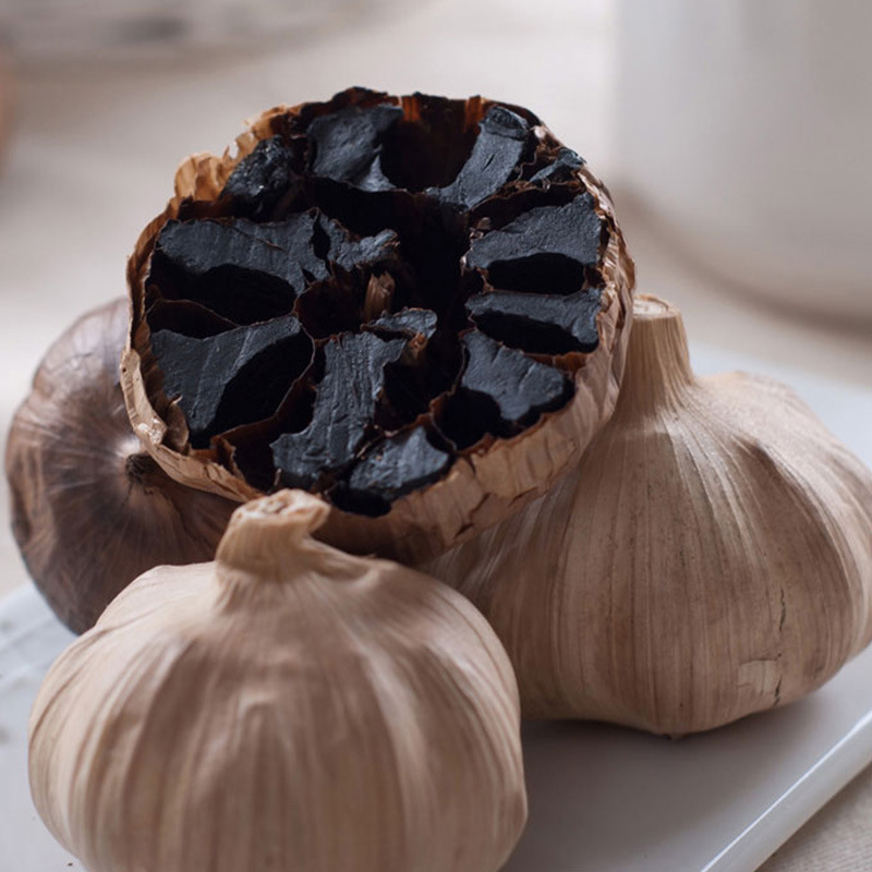 Good Taste Fermented Black Garlic 6 Cm Bulbs (500g/can)