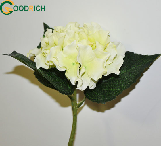 Mini Hydrangea Silk Flower in Various Colours