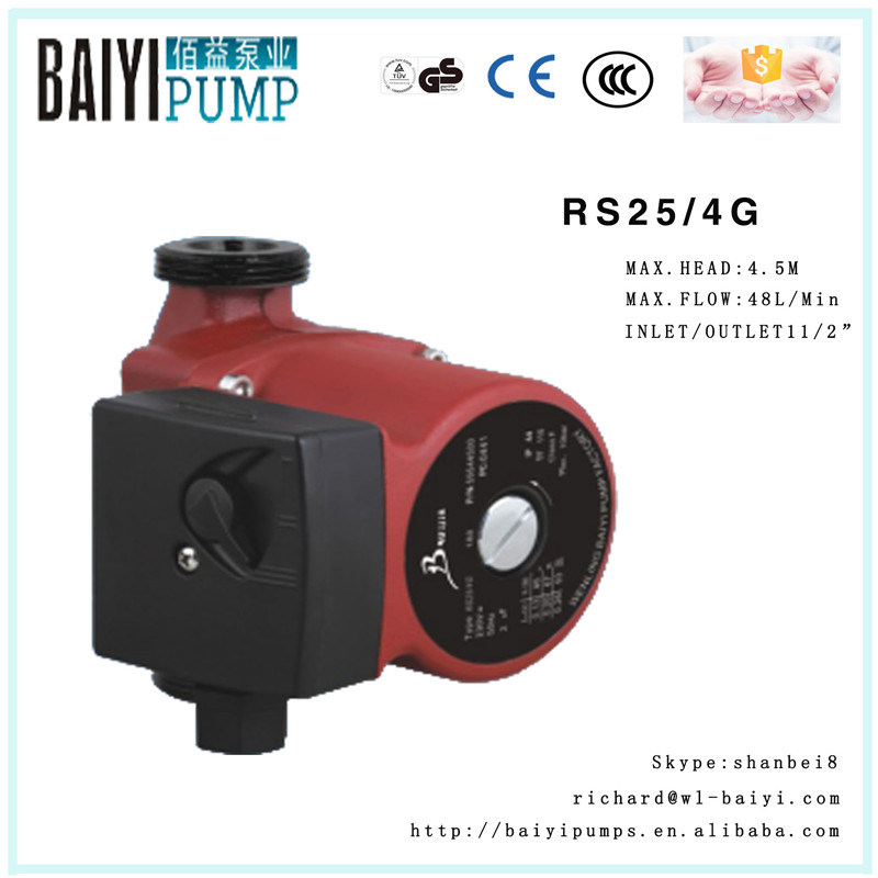 Russia Hot Water Circulation Pumps RS25/4G for Shower