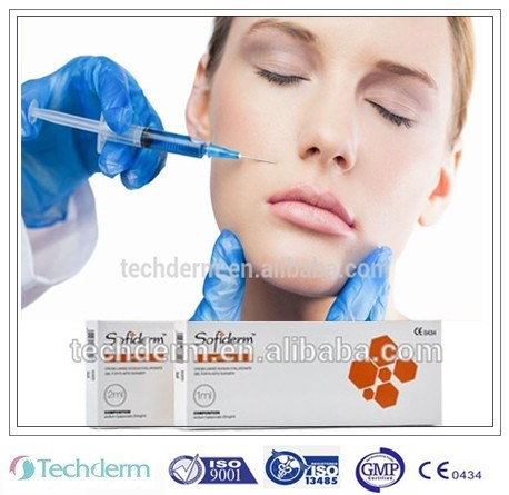 Sofiderm Hyaluronic Acid Dermal Filler for Plastic Injection (Deep 1.0ml)