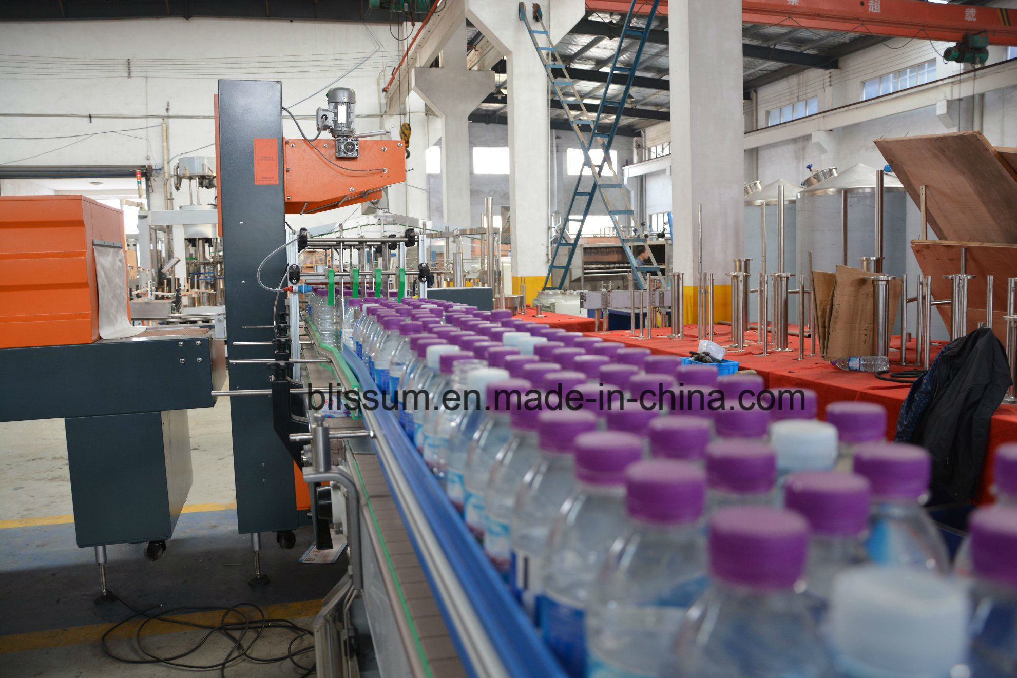 Pet Plastic Bottle Water Rinser Filler Capper Filling Machine