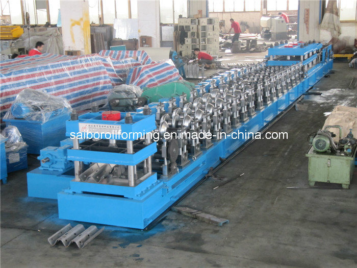 Guard Rail Roll Forming Machine 2.0-4.0mm Thickness