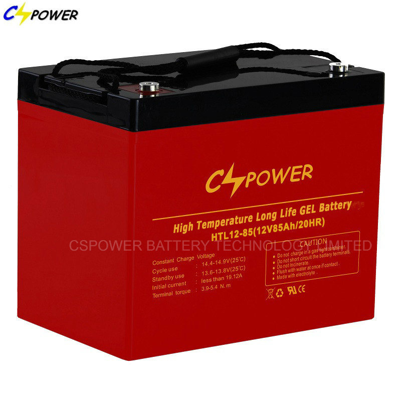VRLA Gel Battery 12V 75ah/85ah for Solar