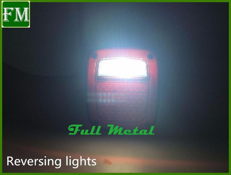 LED Tail Lights Light for Jeep Wrangler Tj 1998-2006 Year