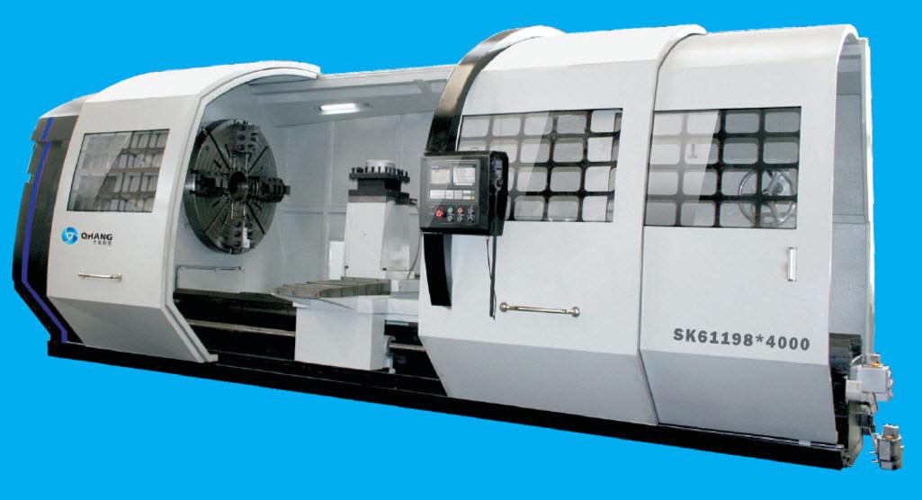 10t Series Horizontal CNC Lathe Machine (SK61168)