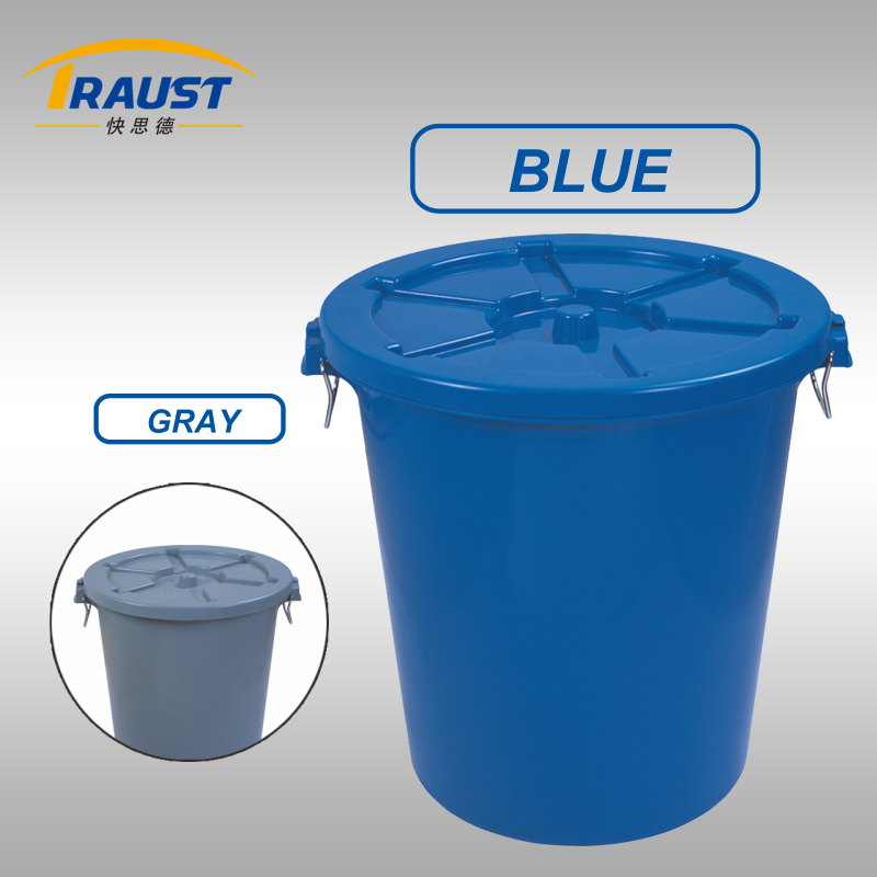 65L, 90L, 110L Circular Garbage Can with Lid