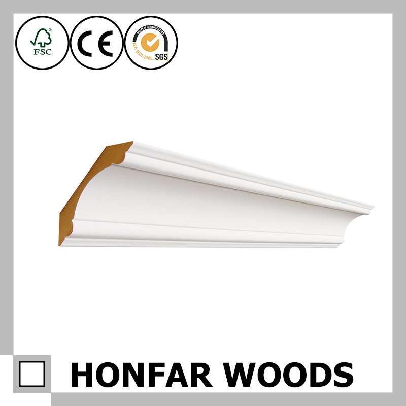Canada Building Material MDF with Primed Wood Moulding