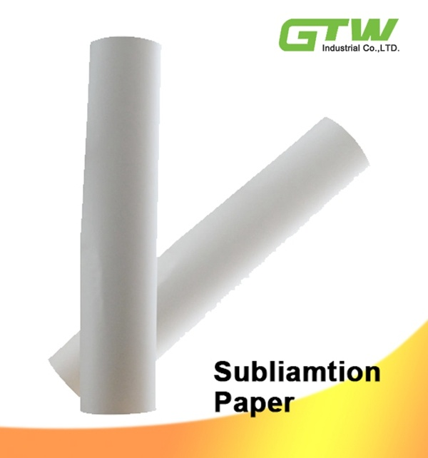 Anti-Curl Fast Dry Dye Sublimation Paper with High Transfer Rate for Epson/Roland/Mutoh 100GSM
