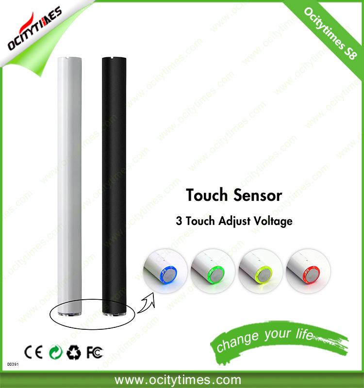 Wholesale 280mAh E-Cigarette Battery Cbd O Pen Vape 510 Battery Preheat E Cig Battery