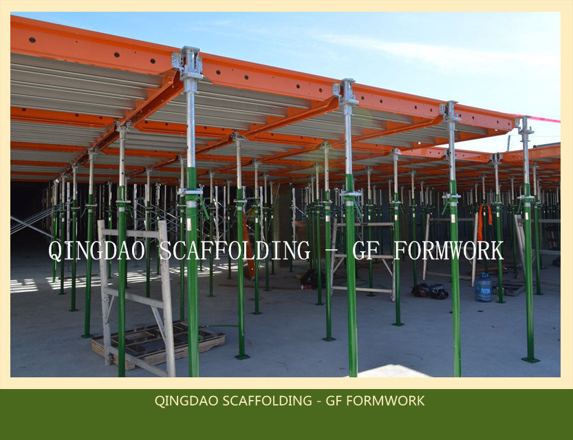 Steel /Aluminium Concrete Construction Green Formwork with Early Stripping Head