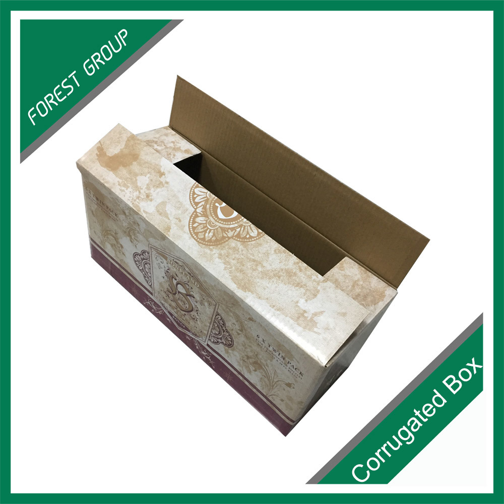 Glossy Finished Corrugated Shipping Carton Box
