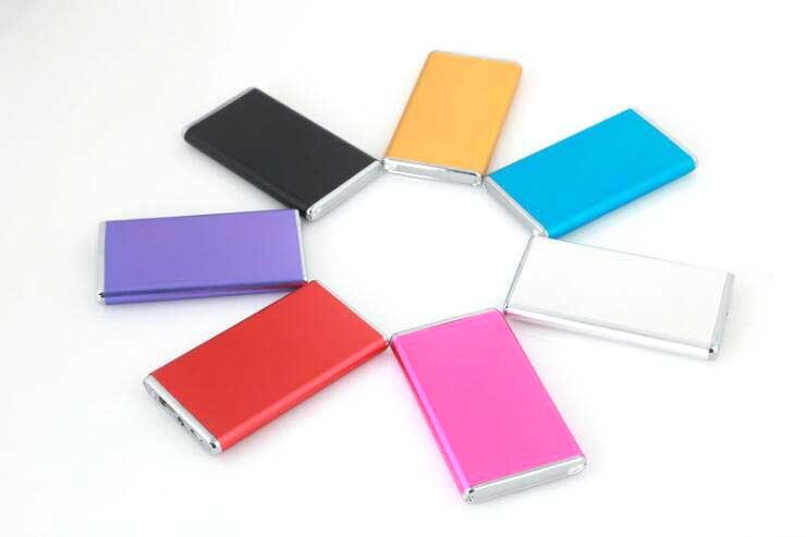 4000-6000mAh USB Portable External Backup Battery Charger Power Bank for Mobile Phone