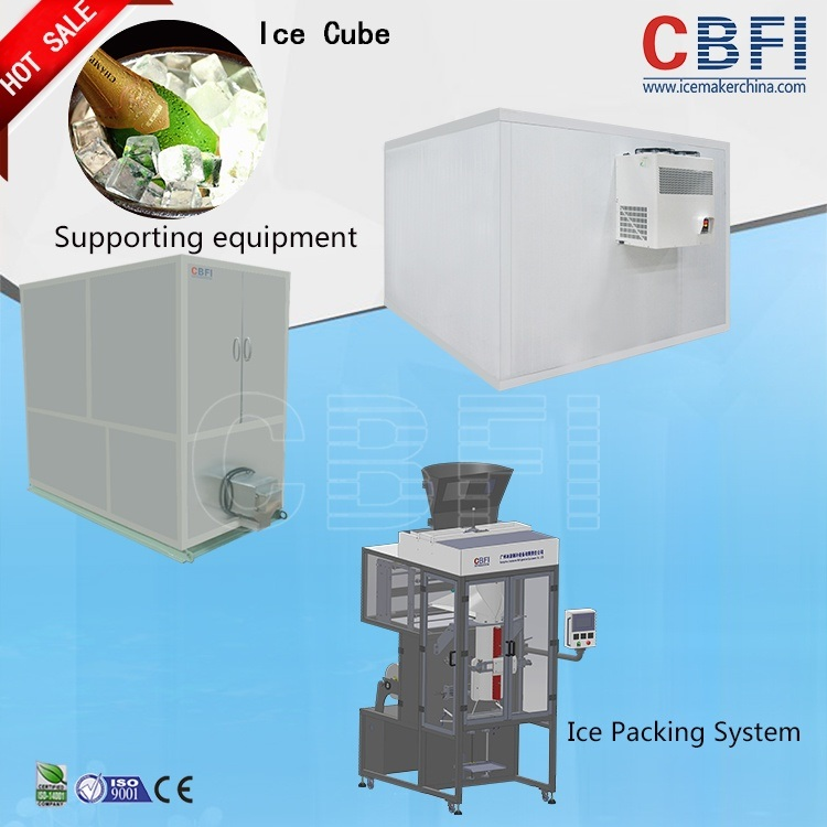 Cbfi Customer Welcomed Integrated Design Edible Ice Making Machine
