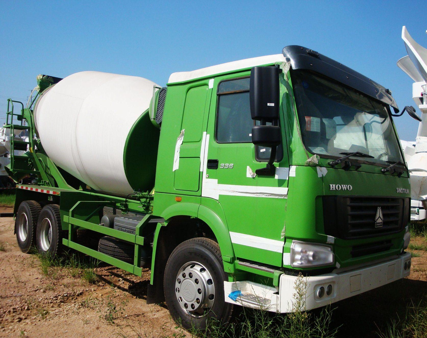 HOWO Concrete Mixer Truck for Construction