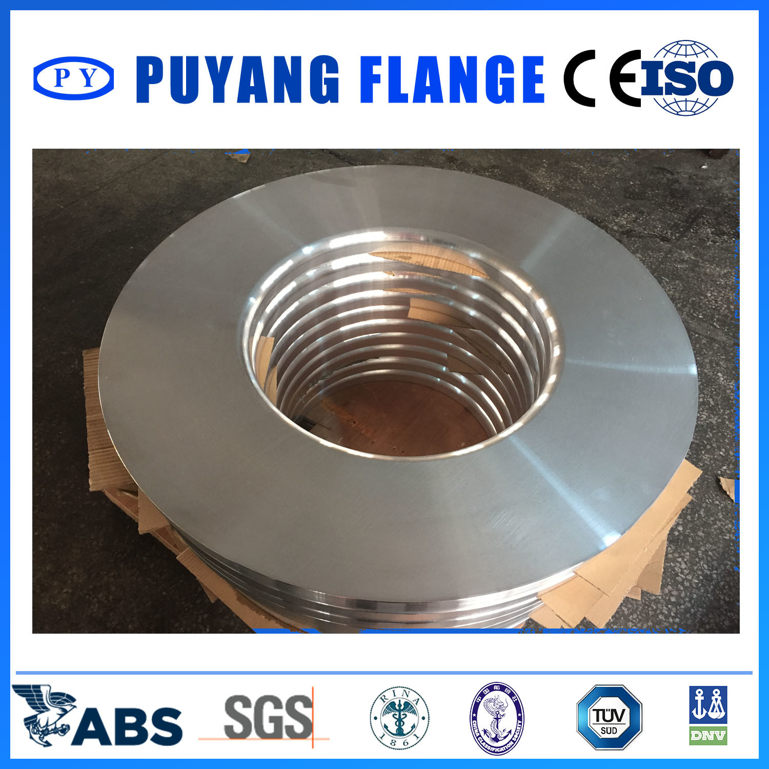 Aluminum 6061 Plate Ring Forged Flange