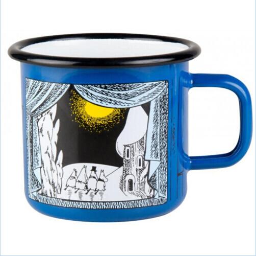 High Quality Customized Decals Enamel Mug/Cup