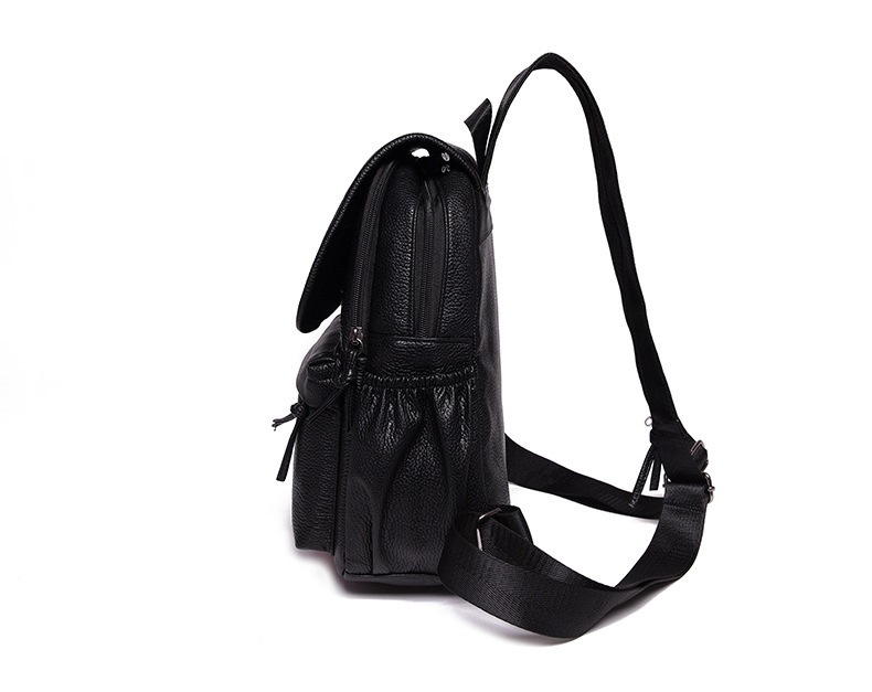 Fashion Classical Genuine Leather Backpack Sling Bag Shoulder Bag