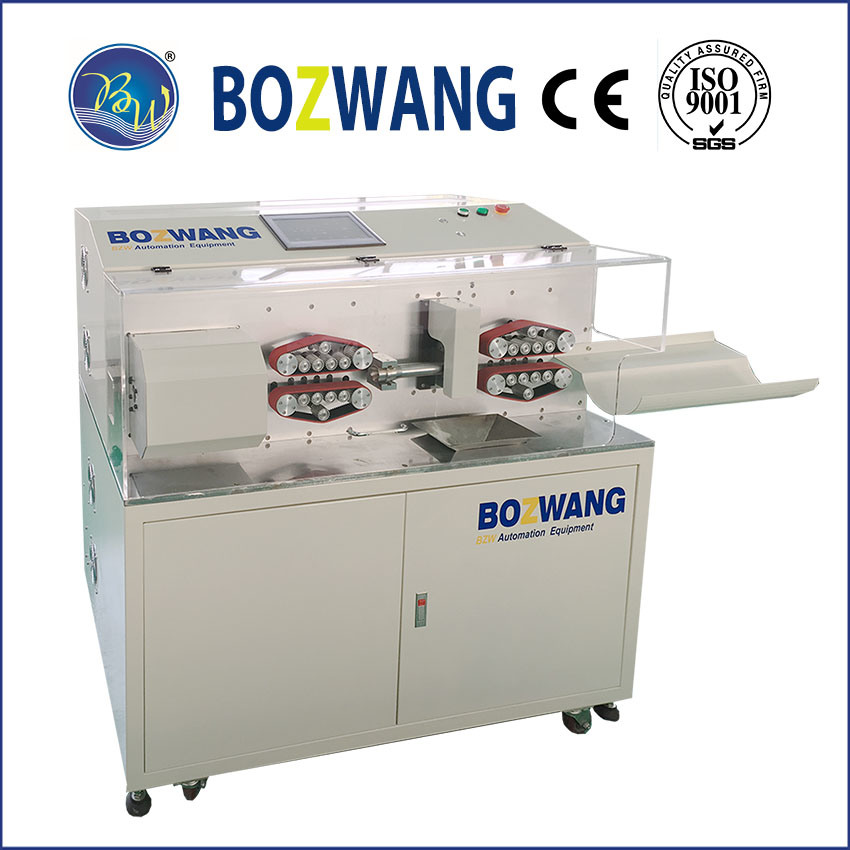 Computerized Cutting and Stripping Machine for Large Size Cable with Rotary Cutter