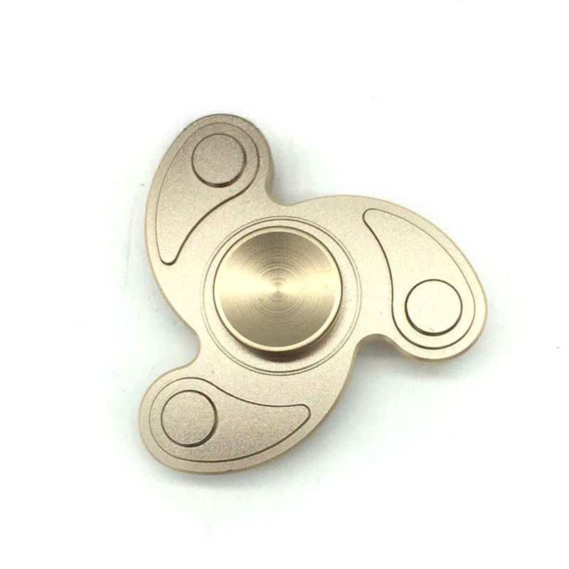Tri-Spinner Fidget Toy Metal Fidget Spinner Educational Toy
