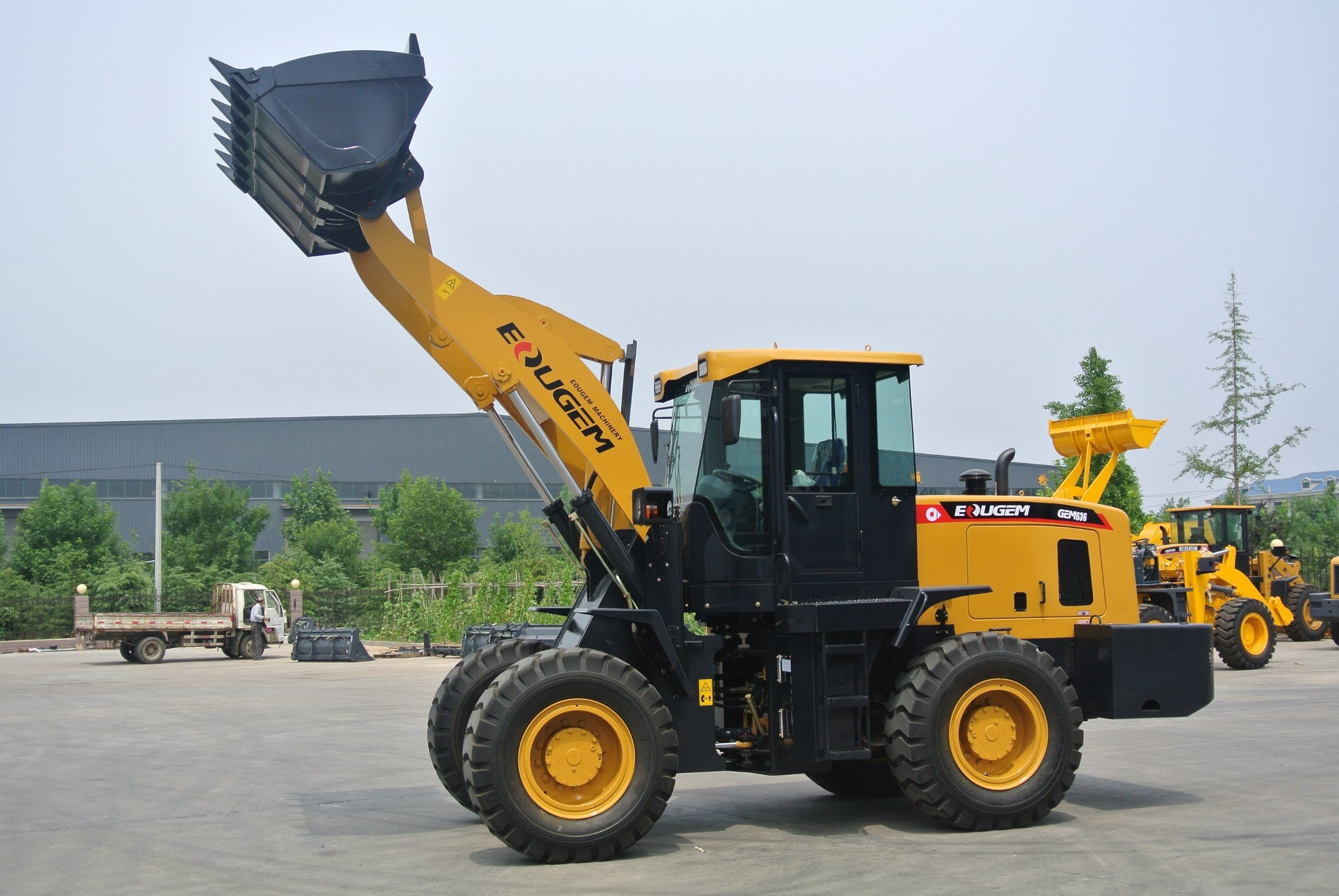 Heavy Construction Equipment China Best Selling Zl30 3ton Mini Loader/Small Loader/Wheel Loader for Sale