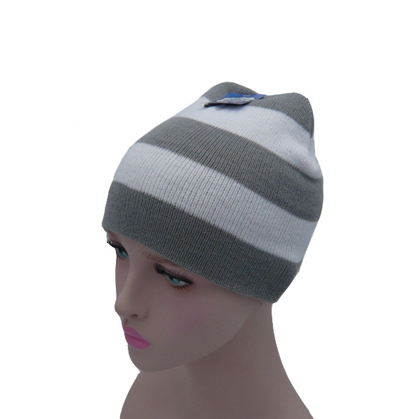 Stripes Qualitative Feeling Knnited Hat