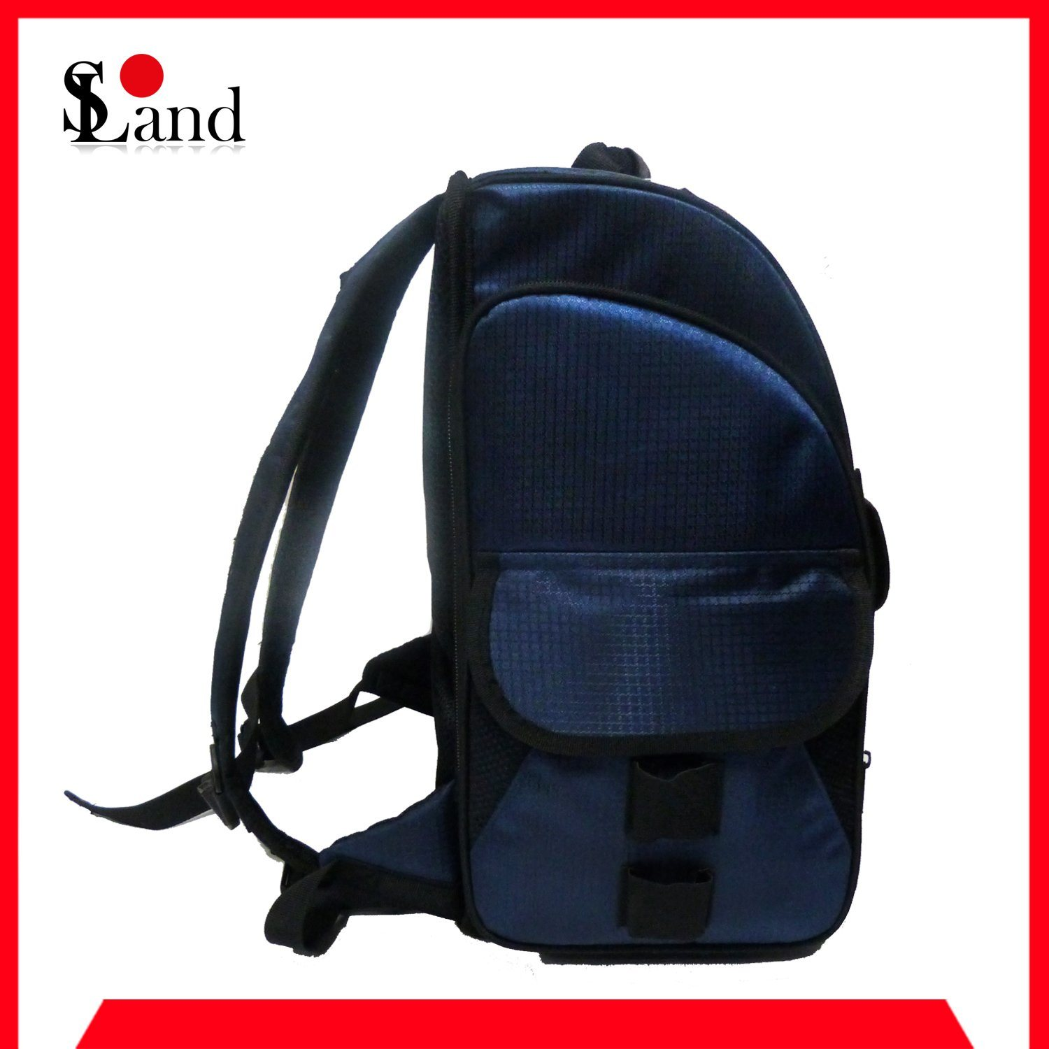 Blue Fishing Tackle Bag Backpack