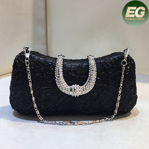 New Arrival Sequins Party Handbags Beaded Crystal Women Clutch Evening Bag Eb768