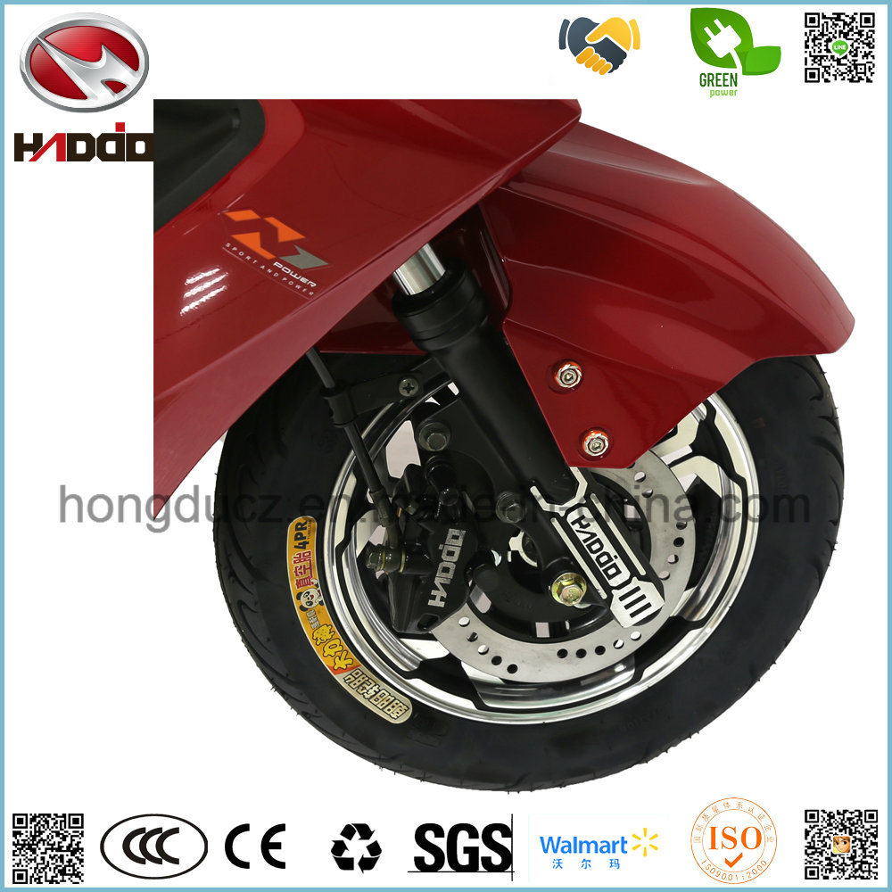 New Powerful Motor Scooter 2 Seats Waterproof Motorcycle for Audlt