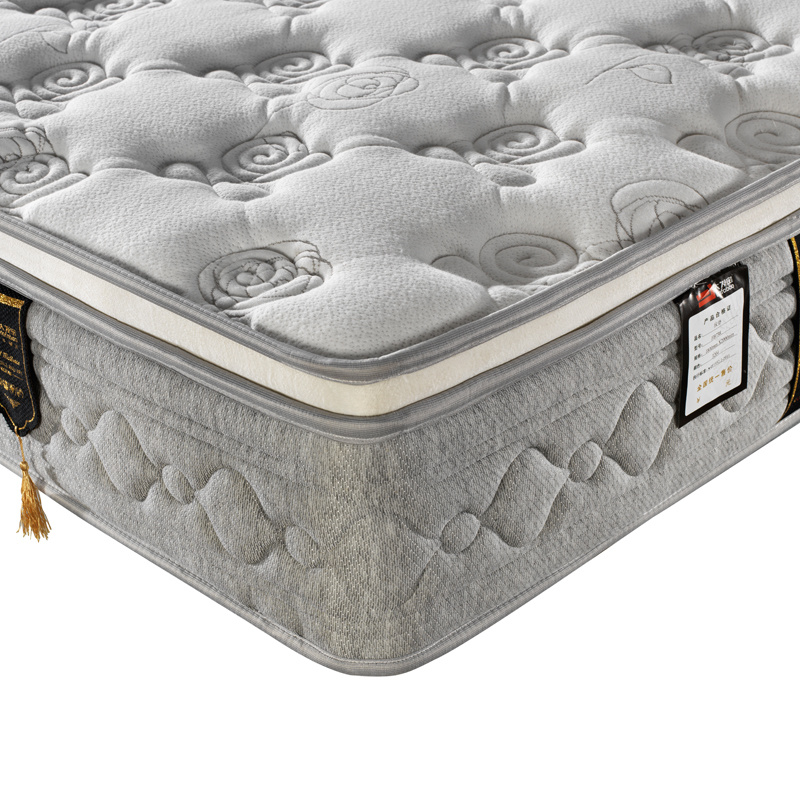 Hot Selling Spring Mattress with High-Density Foam (FB738)