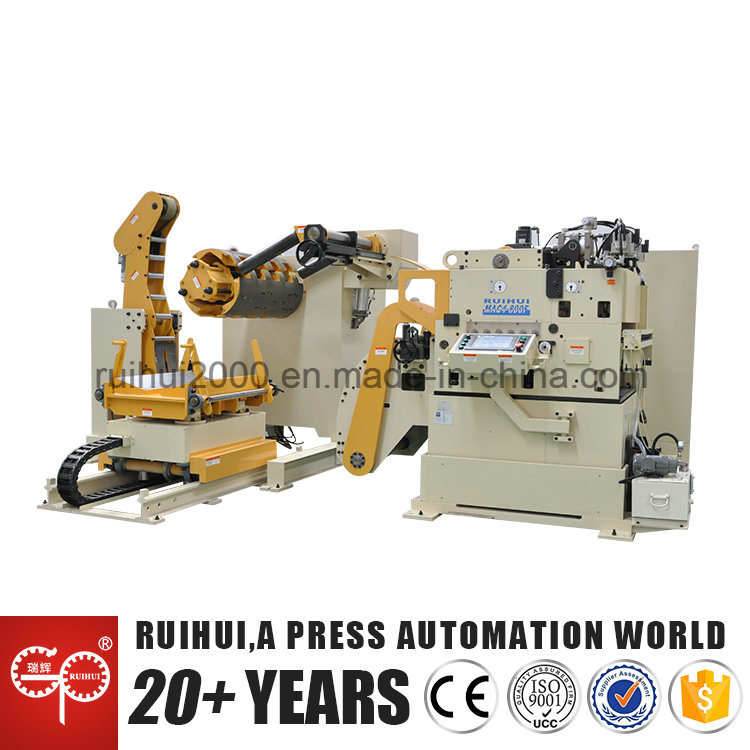 Automation Machine Nc Servo Straightener Feeder and Uncoiler Use in Hardware Manufacturers
