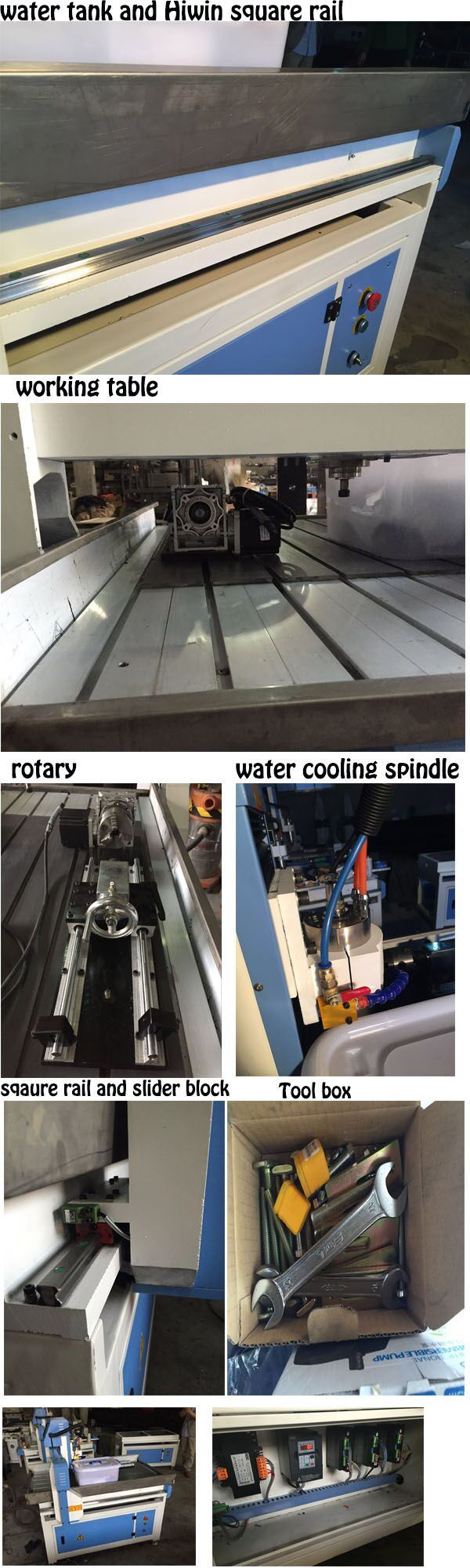 600X900mm 2.2kw Stepper Motor Small Marble Stone Cutting Machine