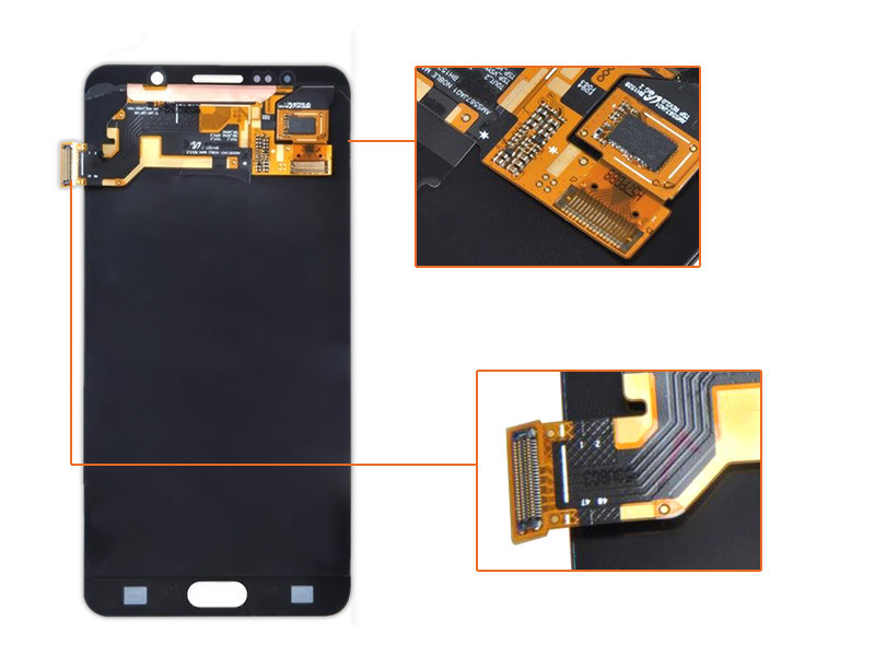 Full Completed LCD Display Touch Screen Digitizer Assembly for Samsung Galaxy Note 5 N9200 LCD