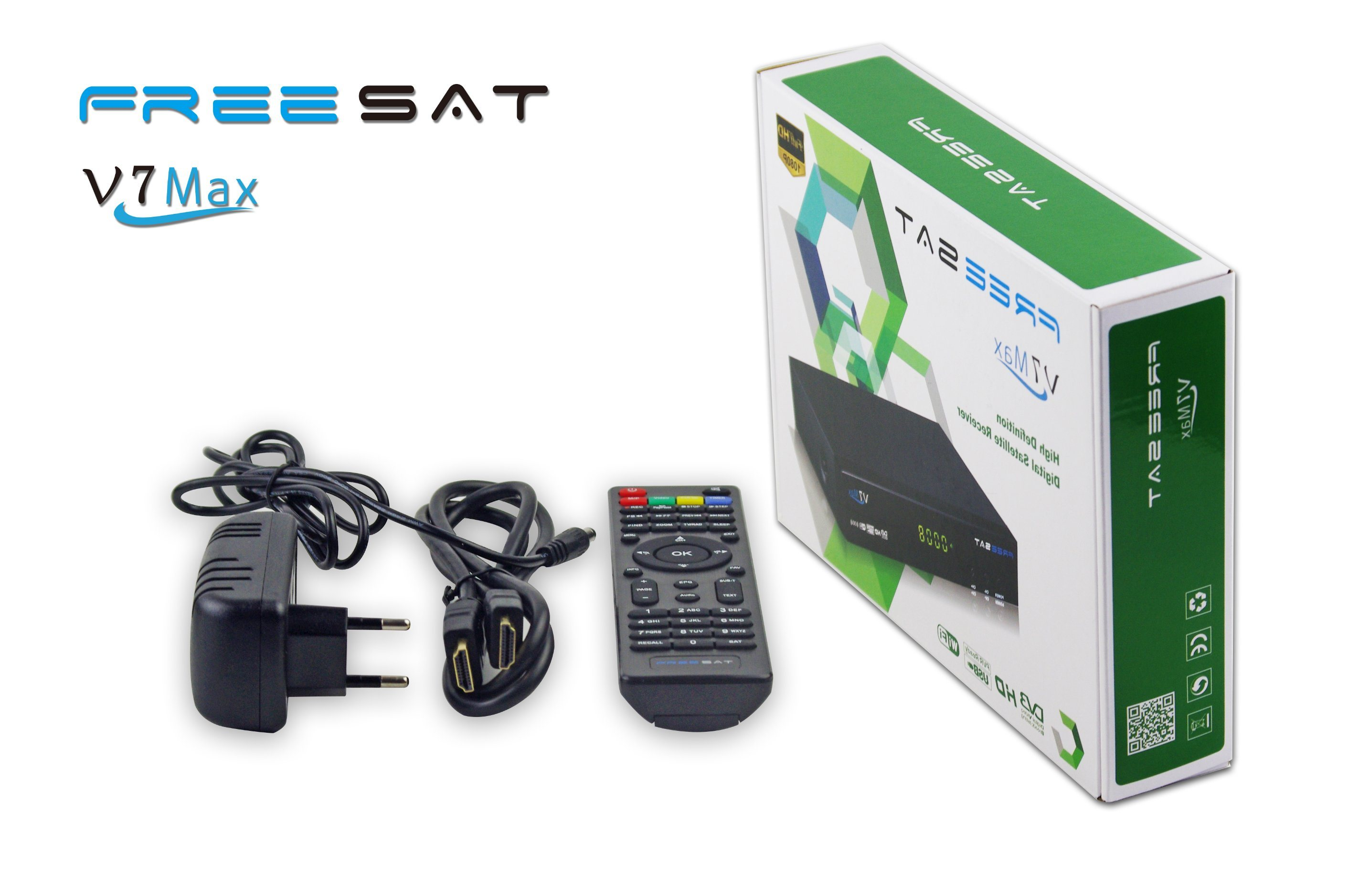 Freesat V7 Max DVB-S2 Full HD Digital Satellite Receiver