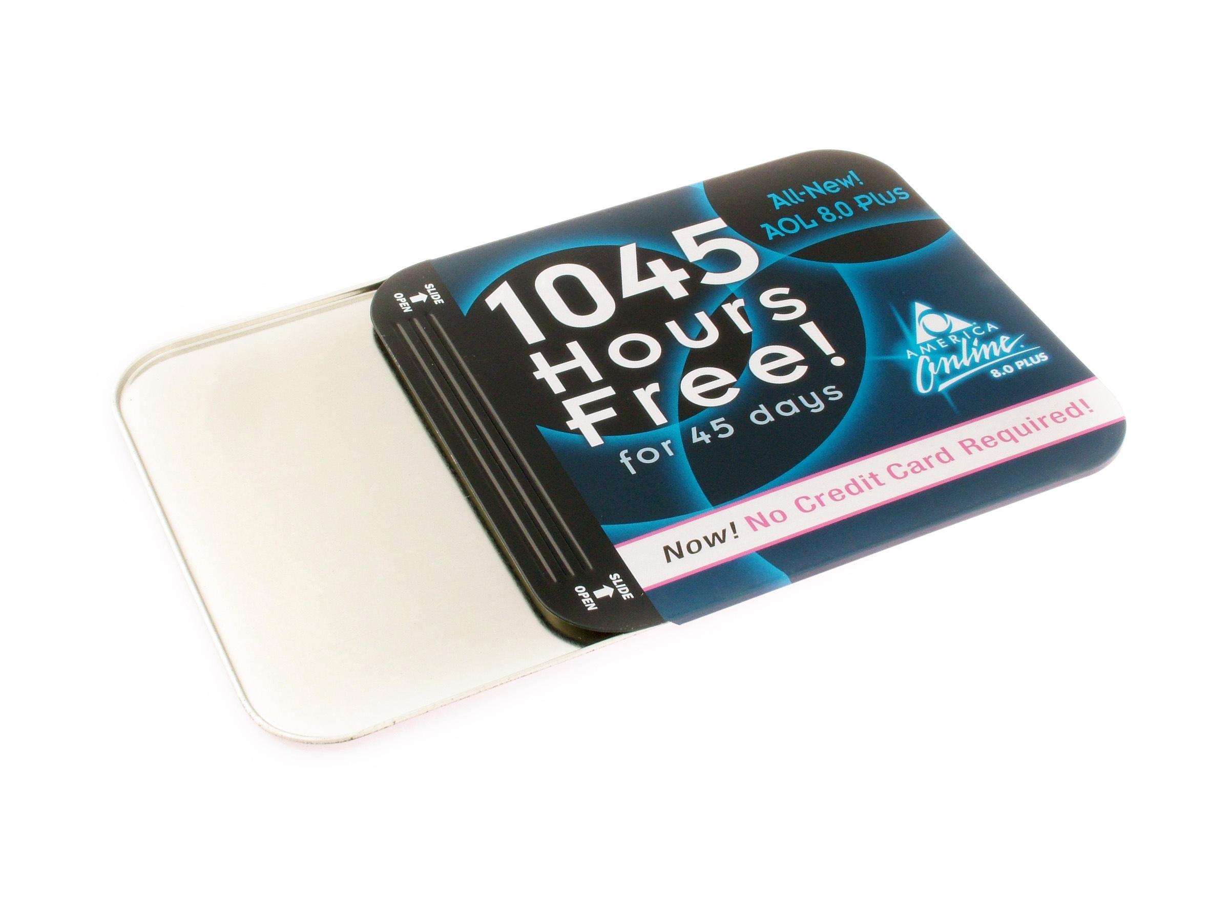 Hot Sale Customer Design CD/DVD Tin Box