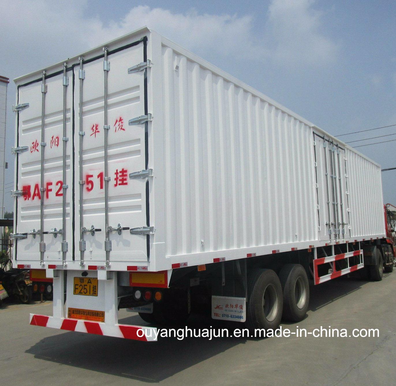 Van Type Container Semitrailer