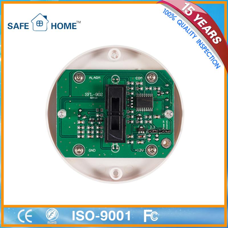 Worldwide Usage! Mini 12VDC Network Smoke Alarm Detector