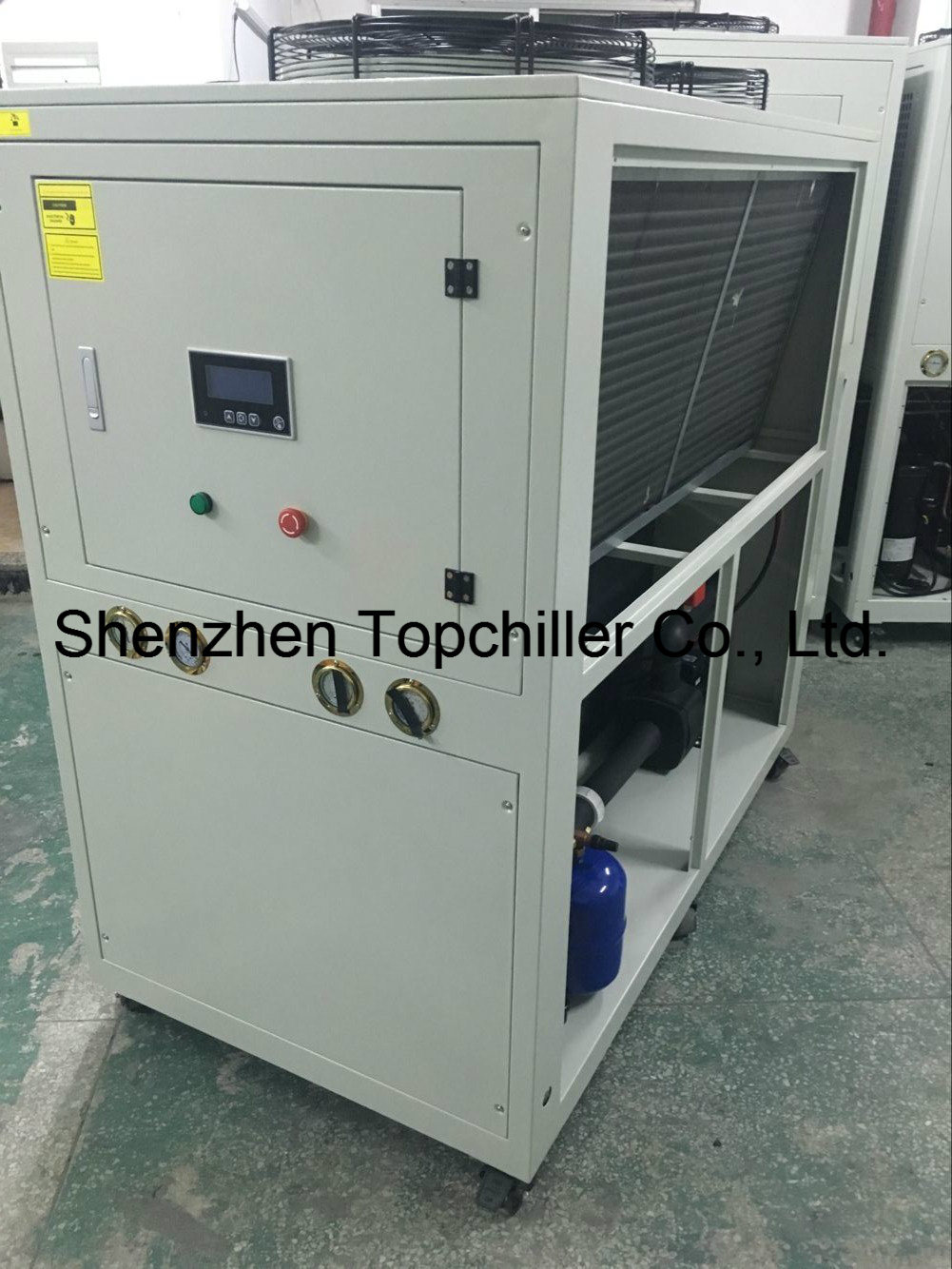 36kw Heating and Cooling Chiller in Polyurethane Thermal Insulation