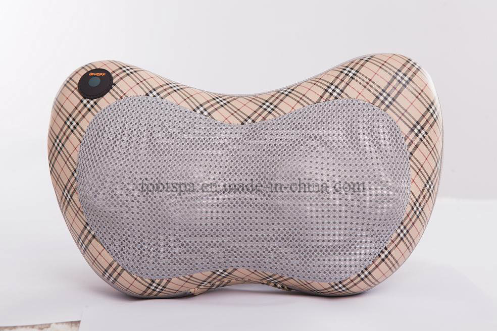 Mimir Electric Neck and Shoulder Shiatsu Car Neck Massage Pillows with Ce Certificate (MK-01)