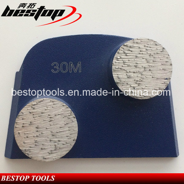 High Quality Soft Bond Concrete Grinding Plate for Lavina Machine