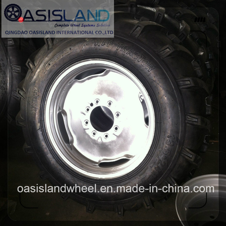 Galvanized Steel Wheel Rim for Pivot Irrigation System (W10X24, W12X24, W13X24, W10X38)