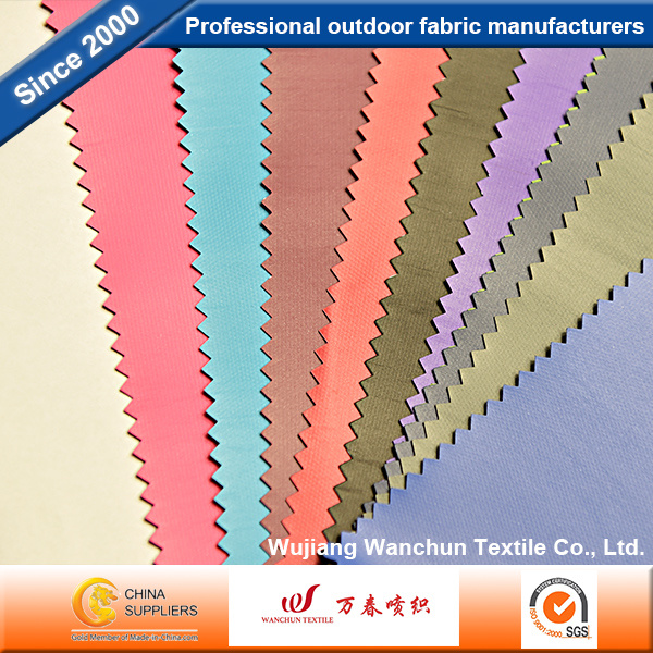 Polyester Oxford Fabric with PVC Backing for Bags Luggages