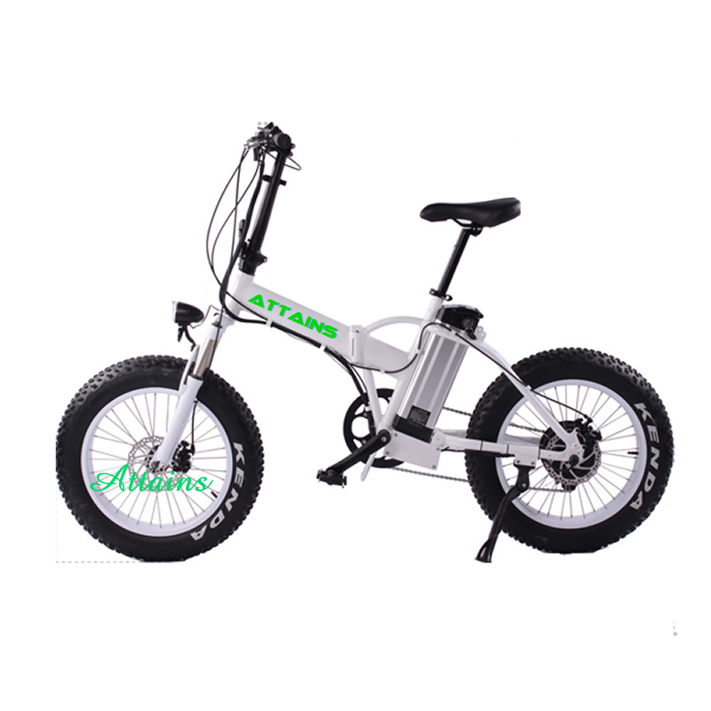 Fat Tire Electric Bike Portable Foldable Electric Bicycle / Foldable Electric Bike