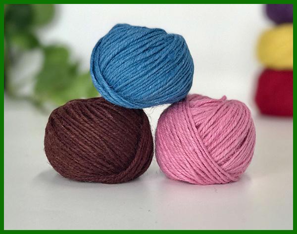 Dyed Jute Yarn (brown) for Artwork Making