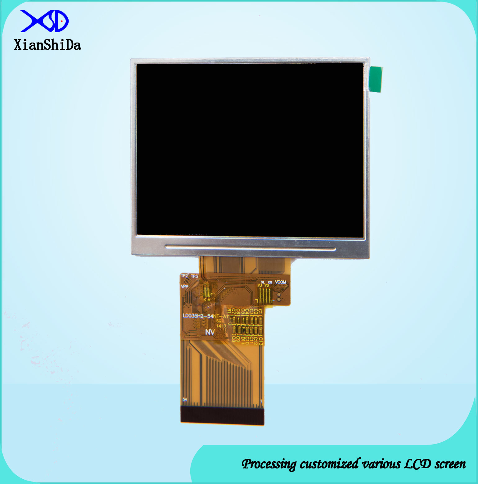 LCD Display 700CD/M2 High Brightness 3.5 Inch TFT Module