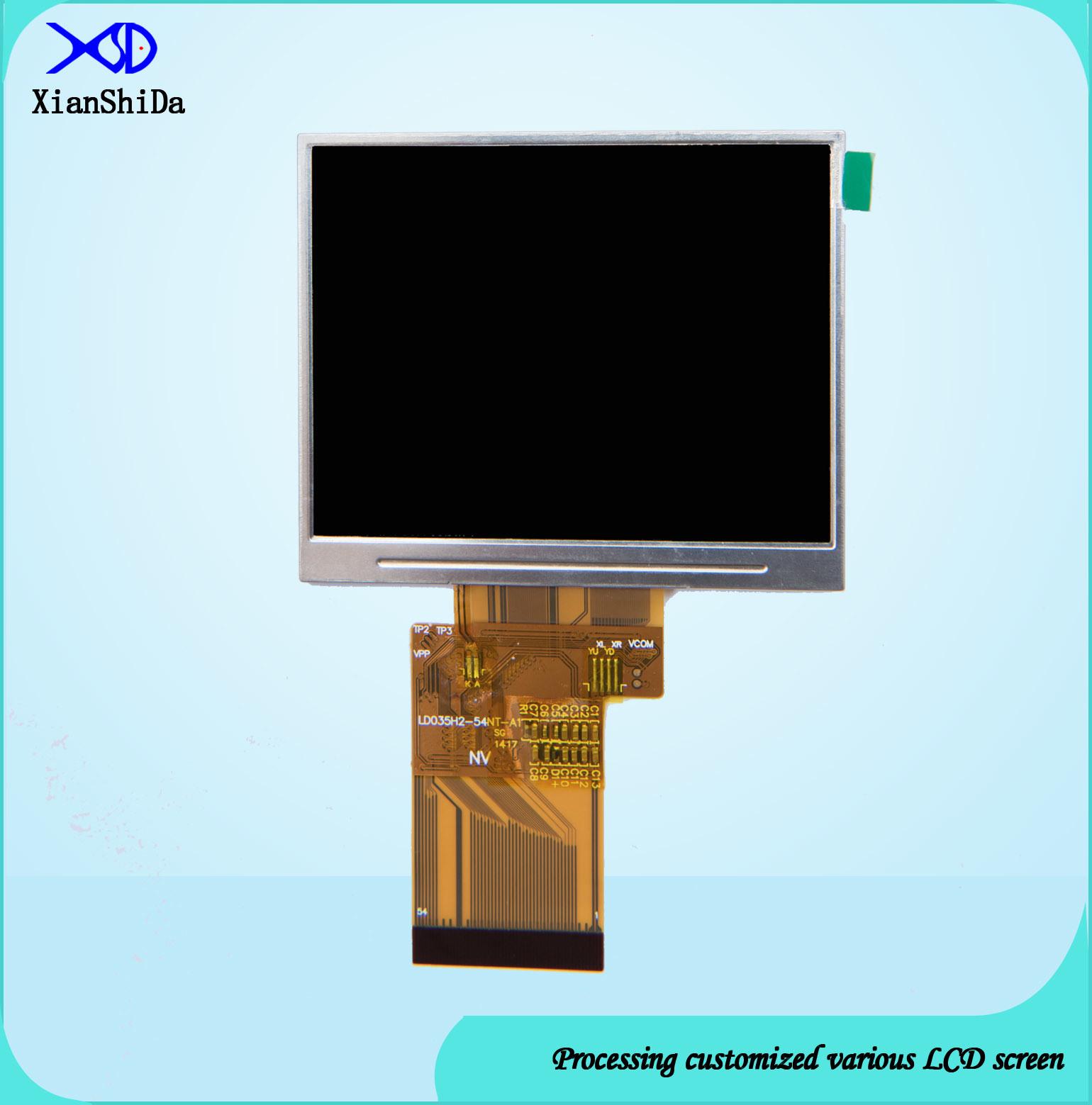 LCD Display 700CD/M2 High Brightness 3.5 Inch TFT Module